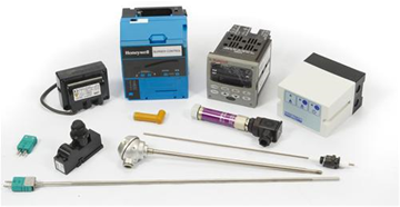 Flame and températures controllers and probes
