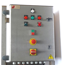 Electric box for 1 gas burner with 2 rates.