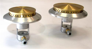 SP80 and SP100 gas burner